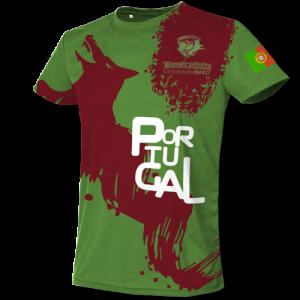 Camiseta Portugal - front