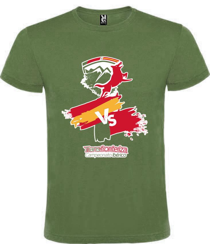 Camiseta Verde Transfronteriza - Edición 2020