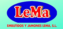 Embutidos y Jamones LeMa - Logo 214x100 px